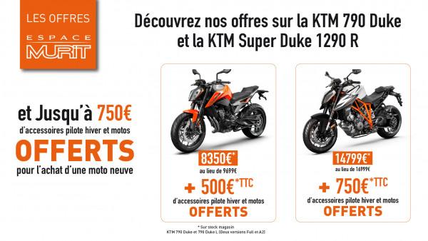 Les offres Espace Murit KTM